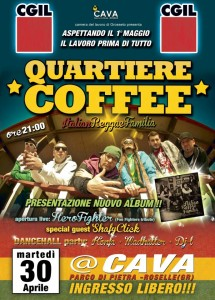 quartiere coffee prima data tour 2013